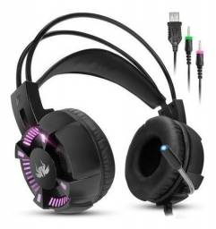 Headset gamer knup 7.1 Sound ENTREGA GRÁTIS