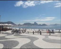 Apto Copacabana vista praia Temporada curta ou longa
