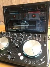 Controladora pioneer ddj wego + fone beats dr dre