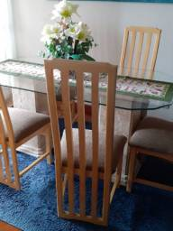 Mesa Sala de Jantar em Travertino