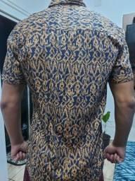 Camisa de botão super nova