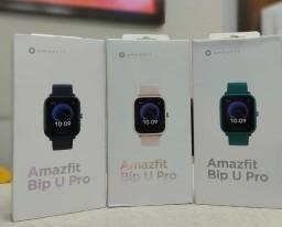 Relógio Smartwatch Xiaomi Amazfit - Bip U Pro A2008 com Bluetooth e GPS
