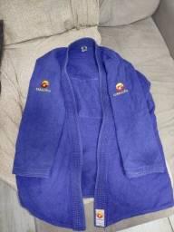 Kimono jiu-jitsu Dragão classic azul