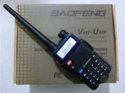Rádio Comunicador Dual Band Baofeng Uv-5r 136-174/400-520mhz