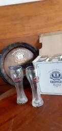 Título do anúncio: Copo de cerveja Erdinger original 500ml