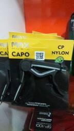 Capotraste aço / nylon