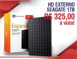 Disco Rígido Externo Seagate Expansion Stea1000400 1tb Preto