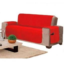 Protetor de sofa c dispositivo para controle e livro