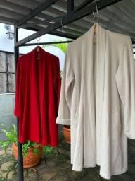 Casacão de lã
