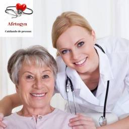 Cuidadora hospitalar e residêncial