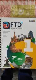 Livros 7 ano Prisma FTD ótimo estado