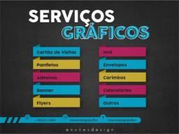 Título do anúncio: Serviços Gráficos (Cartões de Visitas, Panfletos...
