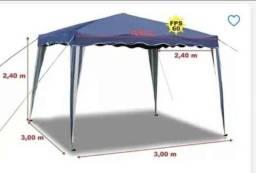 Tenda com forro interno 3x3