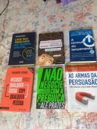 Livros interessante novos R$40,00
