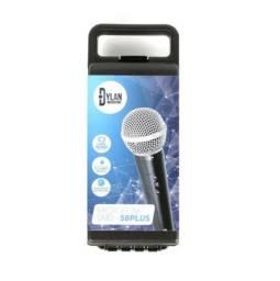 Microfone Dylan Dinâmico De Mão C/fio Smd58 Plus