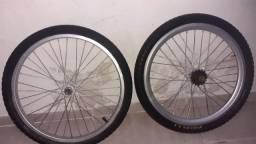 Rodas e pneu ARO20