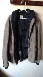 Jaqueta com capuz tamanho G