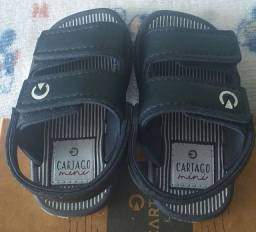 Percatinha e sandália