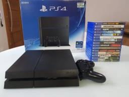 PS4 com 15 jogos impecáveis!