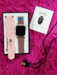 Presenteia a quem você ama com este lindo relógio Smartwatch.