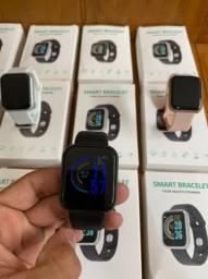 Smartwatch Y68 + 2 pulseiras