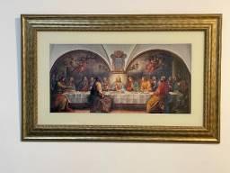 Título do anúncio: Quadro Santa Ceia 96 x 62 cm