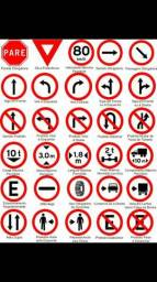 Aulas Particulares de Legislação de Transito e Para quem tem medo de dirigir