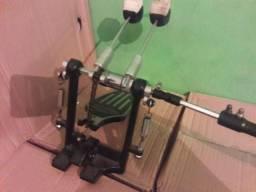 Itens de bateria pedal duplo carrilhao caixa