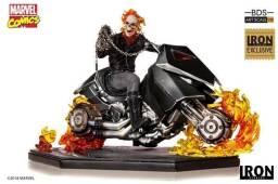 Ghost Rider Bds 1/10 Exclusivo Iron Studios - Ccxp 2018