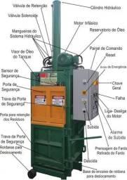 Prensa Enfardadeira Hidráulica Vertical - Produtos para Reciclagem em Geral
