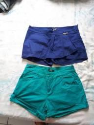 Vendo os dois shorts por 40 reais