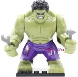 Boneco lego super heróis marvel dc, brinquedo diversão
