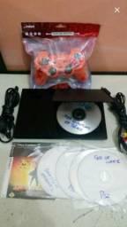 Ps2 rodando pelo cd e pendrive com leitor novo por 190 reais