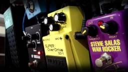 Pedal Guyatone SRW2 Wha Rocker assinatura Stevie Salas usado