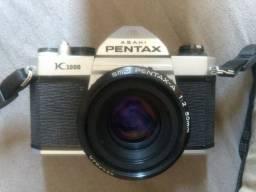 Câmera analógica mecânica Pentax K1000, somente o corpo