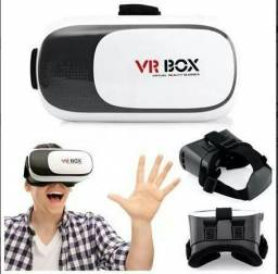 Oculos de Realidade Virtual 3D VR Box com controle