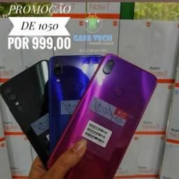 Redmi Note 7 4GB ram 64GB armazenamento pronta entrega lacrado 3 cores