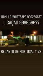 Casa e terreno no recanto Portugal!