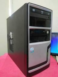 PC Intel Core2Duo, E7500, 4GB ram DDR3, 500GB de HD (novo). Placa WI-FI Encore 2 Antenas
