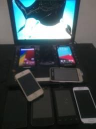 Lote de telefones