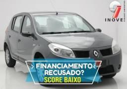 Sandero Score Baixo Pequena Entrada - 2011