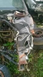 Honda Civic 05 longarina lado esquerdo com caixa de roda
