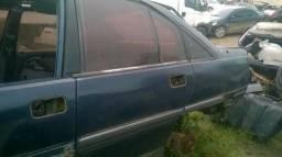 Vidro móvel porta traseira esquerda motorista Omega Suprema 93/97