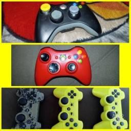 Controle Xbox e Ps3 Joystick
