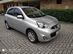 Nissan March Nissan March SV 1.6 Prata 2017 Excelente Estado, Único Dono - 2017