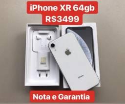 IPhone XR 64gb Nota e Garantia - Trocas e Cartão