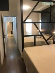 Apartamento com 3 dormitórios (suite) à venda, 90 m² por r$ 553.500 - campestre - santo an