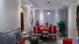 Apartamento à venda com 3 dormitórios em Olaria, Rio de janeiro cod:889122