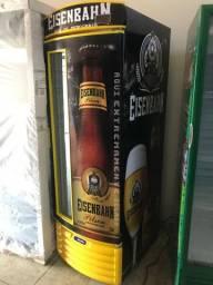 Cervejeira metalfrio com filhete de vidro !