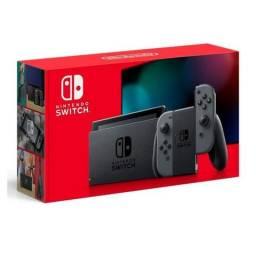 Nintendo Switch Com Joy-Con Cinza Nova Versão